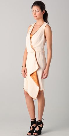 Another great wrap dress by Rachel Roy