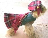 Bah!  We can have one made in the Scott tartan and Gus and Dad can match!