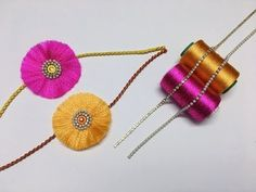 Learn how to make simple and beautiful silk thread rakhi easily at home, its fun and super easy handmade rakhi for beginners. You require silk thread, card, . Raksha Bandhan Photos, Raksha Bandhan Cards, Happy Raksha Bandhan Wishes, Raksha Bandhan Greetings, Rakhi Greetings, Handmade Rakhi Designs, Happy Rakhi, Rakhi Making, Rakhi Gifts
