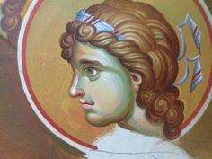 Iconographer Dimitris Maniatis – icoana Byzantine Icons, Princess Zelda, Disney Princess, Religious Art, Fresco, Vignettes, Disney Characters, Fictional Characters, Snow White