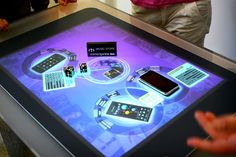 Touch surface technology