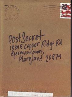 Post Secret tasharee