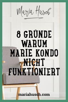Magic Cleaning mit Marie Kondo funktioniert, doch auch bei dir? Konntest du loslegen und lebst jetzt in Ordnung? Ich erzähle dir, warum die Kondo-Methode oft nicht funktioniert.