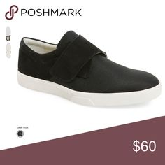 NWT Calvin Klein Sneakers 10.5 - Suede/nylon These cool partly Suede and mostly nylon fashion sneakers have an awesome look that is  much better in person.  The Monk Strap is velcro, so easy on and off capabilities. Calvin Klein Shoes Sneakers