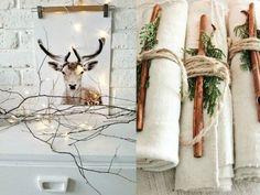 Comment passer un Noël zéro déchet, slow et éthique ? Christmas 2015, Xmas, Christmas Ideas, Diy Art, Zero Waste, Ladder Decor, Deer, Moose Art, Kawaii