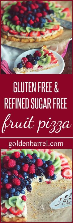 This yummy fruit pizza is both gluten free and refined sugar free. Piled high with your favorite fruit, it's a guiltless treat to add to your summer baking. I've been trying to be better at our family's consumption of sugar … Continued