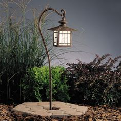 Kichler, California Mission Style Lantern Path and Spread Light
