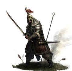 korean warrior(Joseon Dynasty) by choigebareun