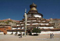 Gyantse Kumbum, en Pelkor Chode, el mayor chorten de Tibet