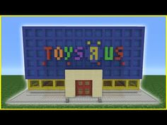 Minecraft Tutorial: How To Make A Chip Shop Minecraft Toy Store, Minecraft Farm, Minecraft Modern, Minecraft House Designs, Minecraft Construction, Minecraft Blueprints, Minecraft Creations, Cool Minecraft, Minecraft Crafts