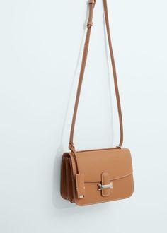 Buckled cross-body bag | MANGO