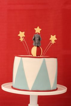 circus party cake