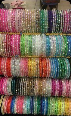 Silver Bracelets and Bangles Silver Bracelets, Bangle Bracelets, Silver Jewelry, Hand Bracelet, Chuda Bangles, Thread Bangles Design, Pakistani Jewelry, Pakistani Bridal, Indian Jewelry