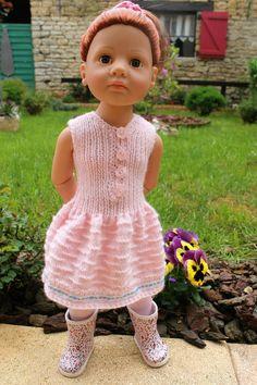 Tuto robe de printemps pour poupée Gotz