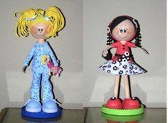 Muñecas de goma eva