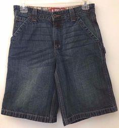 Levi's Women's Size 12 Denim Bermuda Walking Jean Shorts 8 Pockets 100% Cotton  #LeviStraussSignature #BermudaWalking