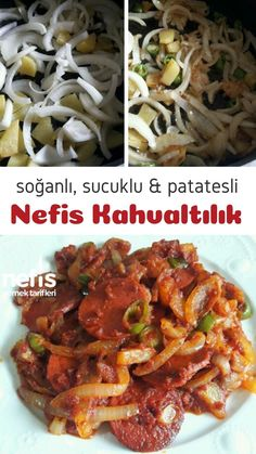 Breakfast Items, Pasta, Food And Drink, Beef, Chicken, Cooking, Health, Turkish Recipes, Essen