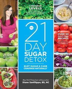 All your 21 Day Sugar Detox Book Resources in one place! Shopping lists, 1-page guides, success logs and much more!!