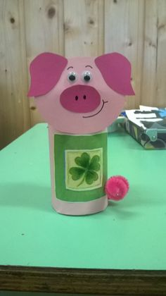 Pig Crafts, New Year's Crafts, Crafts For Kids, Paper Plate Crafts, Paper Plates, Chinese New Year Crafts, Year Of The Pig, New Years Eve, Happy New Year