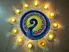 Simple Diwali Rangoli Designs                                                                                                                                                      More