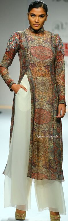 Ashima-Leena -Wills India Fashion Week Fall/Winter 2014-15❋ Laya Padigala
