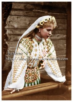 Crown Princess of Romania by AlixofHesse on DeviantArt. Queen Marie of Romania. Peles Castle, Princess Alice, Royal Beauty, Noblesse, History Books, King Queen, Vintage Photographs, Historical Photos, Bridal Gowns