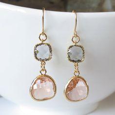 Dangle Earrings Drop Earrings Wedding Jewelry by ellejewels
