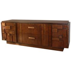 Lane Sideboard, U.s.a., 1970's | From a unique collection of antique and modern credenzas at http://www.1stdibs.com/furniture/storage-case-pieces/credenzas/