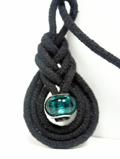 Pipe Knot Pendant Tutorial from thefrugalcrafter blog