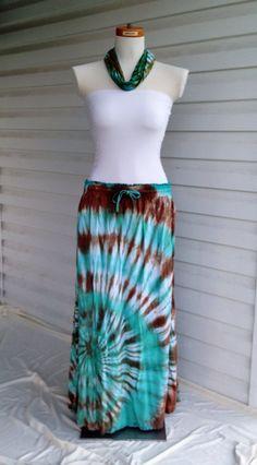 Tie-Dye Maxi Skirt, Long Skirt, Hippie Skirt by 2dye4designs on Etsy https://www.etsy.com/listing/152043051/tie-dye-maxi-skirt-long-skirt-hippie