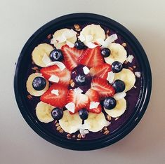 Since acai is full of amino and fatty acids, enjoy a bowl after a morning workout to maximise muscle regeneration.
