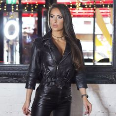 Fantastic are available on our web pages. Have a look and you will not be sorry you did. Hot Outfits, Fashion Outfits, Leather Pants, Black Leather, Vintage Leather, Leder Outfits, Pants For Women, Clothes For Women, Leather Fashion
