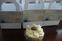 Promoting the business. http://cupcakesandmorecakes.blogspot.ca/