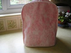 Designers Guild  cotton  raspberry pink shade with a ripple effect in ivory  £22.99