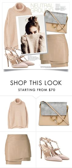 """Untitled #219"" by ferreirabruna on Polyvore featuring MANGO, Whiteley, Chloé, Helmut Lang and Valentino"