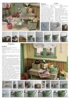 Miniature tutorial of gardening things--original has foreign lang but this has English! Like!