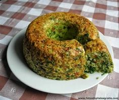 Recetas Cocina Naturista: Budin de Arroz Integral y Espinaca Healthy Recepies, Healthy Smoothies, Smoothie Recipes, Veggie Recipes, Vegetarian Recipes, Cooking Recipes, Healthy Nutrition, Healthy Eating, Salada Light