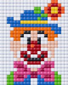 #clowntje #pixels #pixelen #pixelXL #pixel.gift #pixelhobby #clown