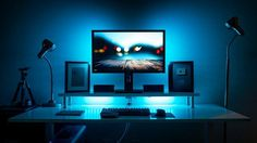 By Will_It_Banana IKEA Skarsta Desk Logitech G602 Mouse Coolermaster Quickfire Rapid Keyboard DIY Monitor Stand Bose QC25 Headphones Acer B276HUL 27-inch Monitor Edifier S330D Speakers Silverstone FT02 PC Case