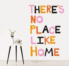 THE BEST PLACE http://www.myvinilo.com/vinilos-decorativos-textos/the-best-place.html Nunca se está tan a gusto como en casa. Vinilos decorativos, hogar, decoración, interiores, pared, diseño, wall decals, stickers, decoration, design, poetry, poesia, words, palabras, frases, dichos.
