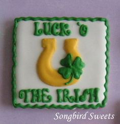 Luck 'O The Irish St. Paddy's Day Cookies 1 by SongbirdSweets