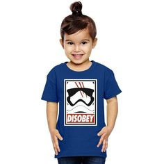 Disobey Stormtrooper Toddler T-shirt