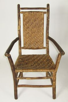 Old Hickory Arm Chairs Furniture Making Things