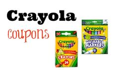 New Crayola Printable Coupons! - Southern Savers