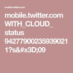 mobile.twitter.com WITH_CLOUD_ status 942779002359390211?s=09