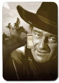 Light Switch Cover- John Wayne Courage