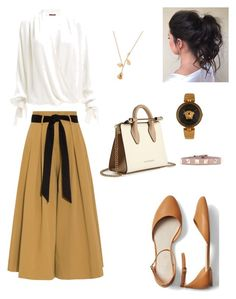 """Semi Formal"" by mitha-wulanda on Polyvore featuring Temperley London, Gap, Strathberry, Versace and Valentino"