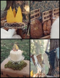 PARTY PACKAGE Where the Wild Things Are by DesignsbyPurcell, $55.00  Chandler's first birthday!!!