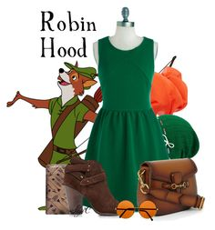 """Robin Hood - Disney"" by rubytyra ❤ liked on Polyvore featuring MANGO, Keds, rag & bone and Gucci"