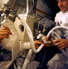 El invento que salvó la vida a los astronautas del Apolo 13